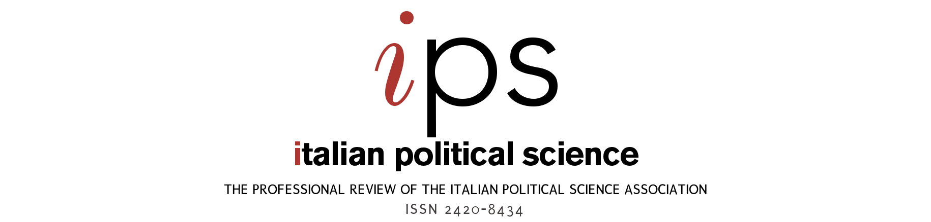 Italian Political Science